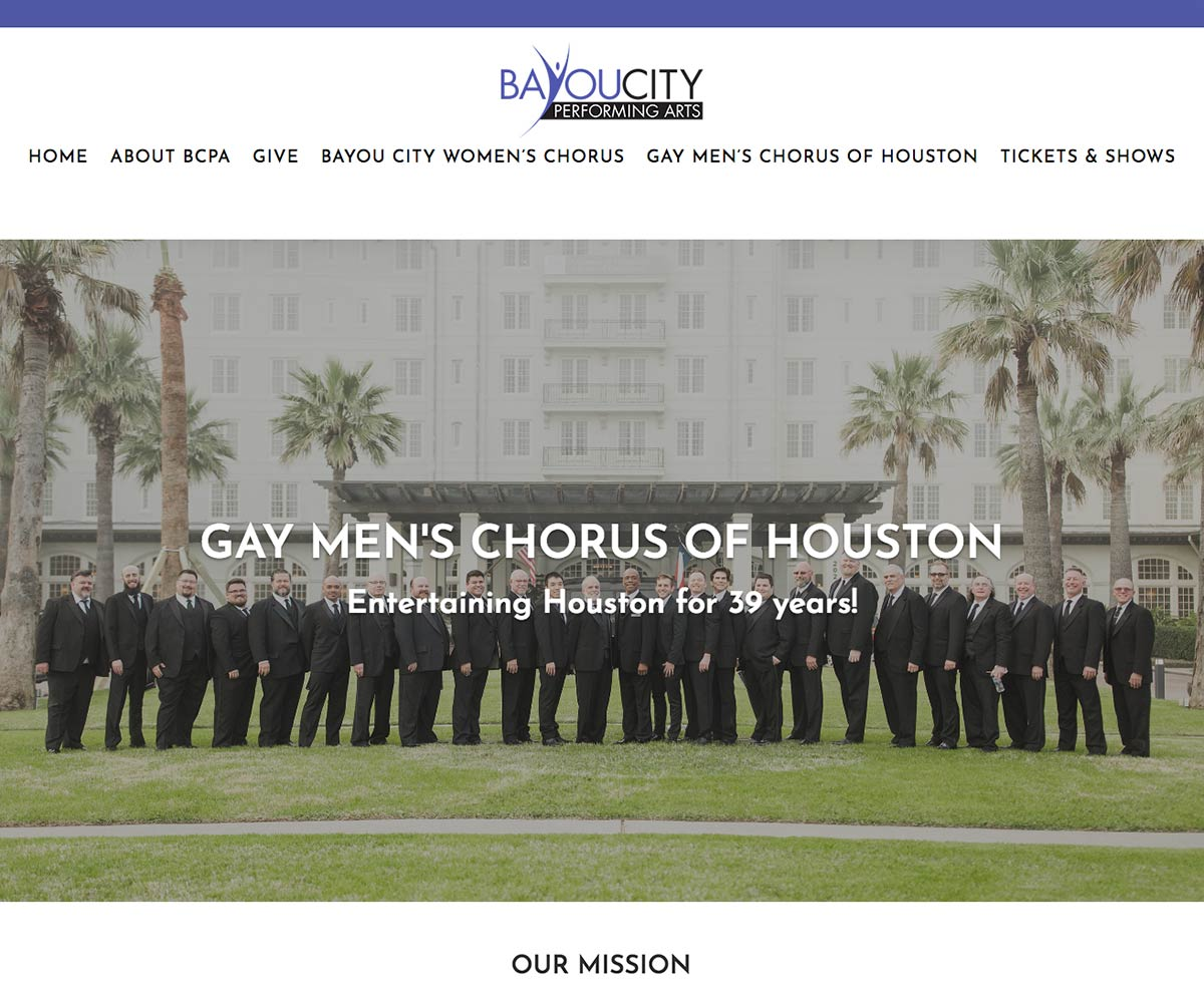 Bayou City Performing Arts